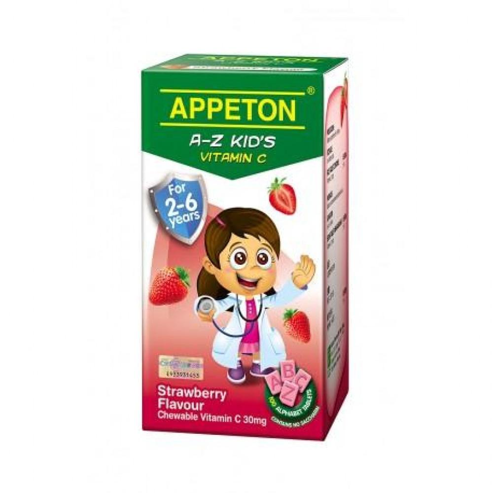 Appeton A-Z Vitamin C Strawberry 100S