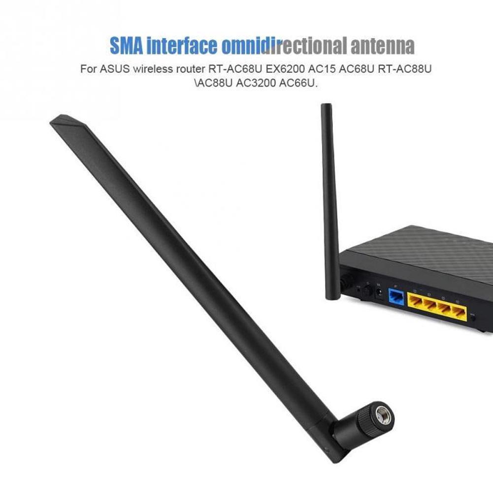 New Dual Band 6dBi RP-SMA 2.4GHz 5GHz 5.8GHz High Gain WiFi Wireless Antenna USA