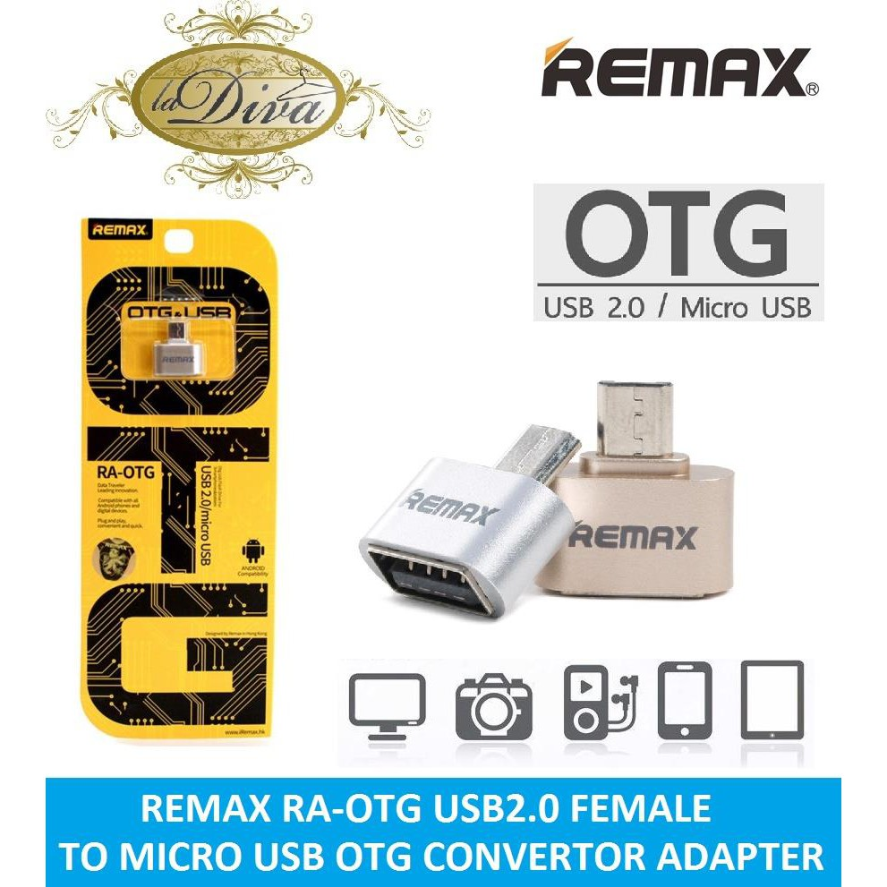Remax Otg Micro Usb Flash Driver For Smartphones Tablets Shopee 0 Malaysia