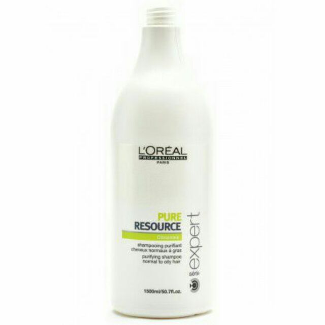 0413acf5a L'Oréal Professionnel Serie Expert Pure Resource Shampoo 1500ml | Shopee  Malaysia
