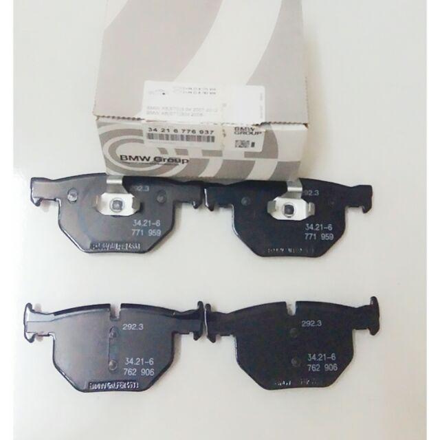 BMW OEM X5/E70 X6/E71 2007-2013 Rear Brake pads 34216776937