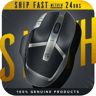 Logitech G602 - Lag-Free Wireless Mouse, 11 Buttons, Up to 2500 DPI