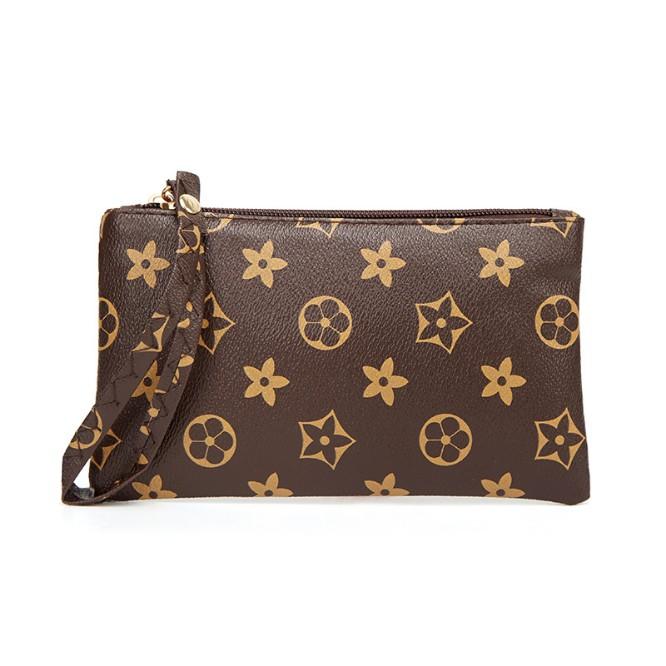 2a0a98f6aee08 Women's coin purse print clutch mini short casual hand pull purse