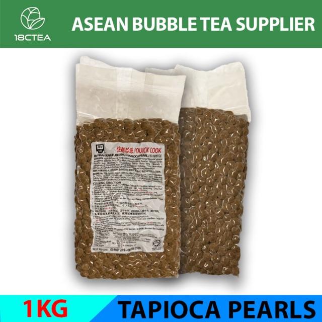 [HALAL] QUICK COOK BUBBLE TEA TAPIOCA PEARLS 1KG/ PKT