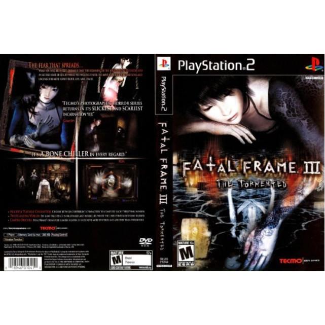 PS2 Game Fatal Frame 3 (Copy Disc)