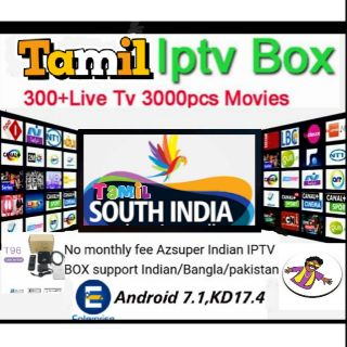 INDIAN IPTV BOX FULL 4K HD Free life time watching also Astro