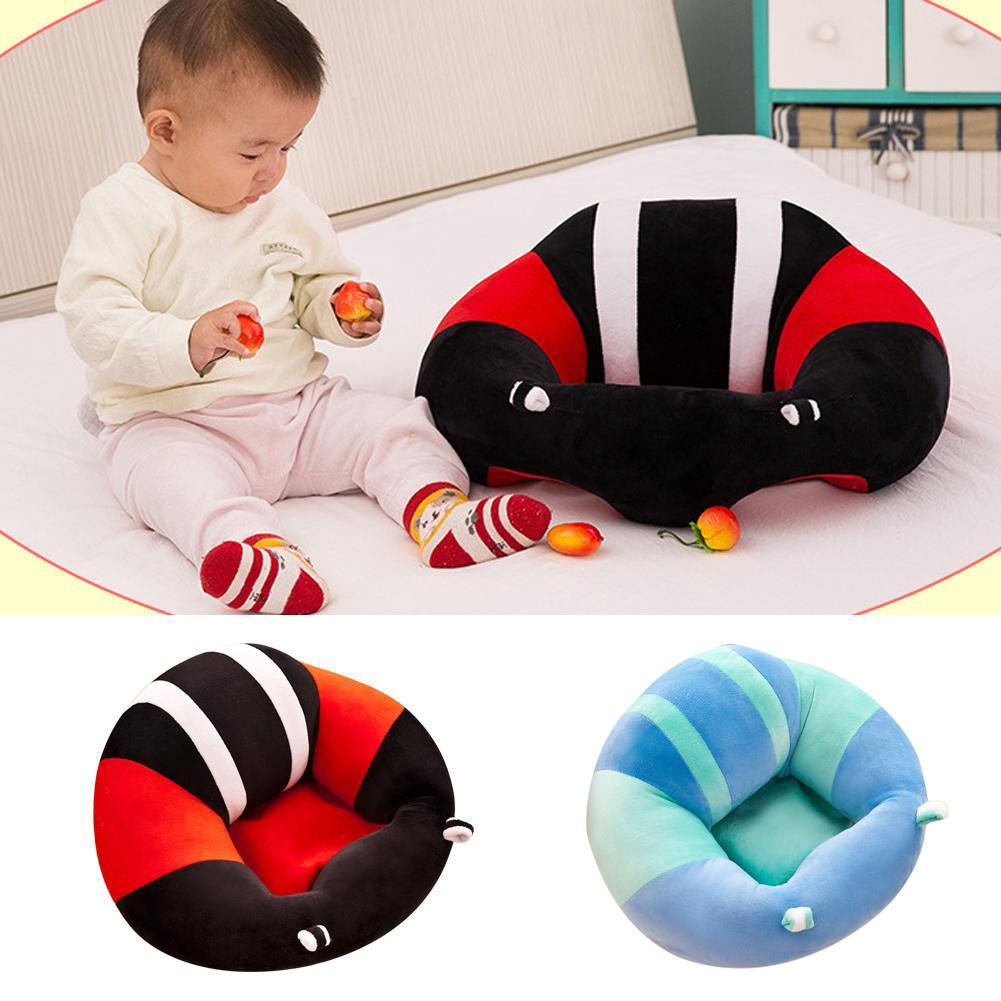 Baby Support Seat Sit Up Soft Kids Chair Cushion Sofa Plush Pillow Toy Bean Bag