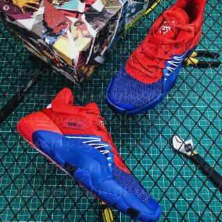 Adidas D.O.N. ISSUE #1 marvel spider man casual breathable running shoes