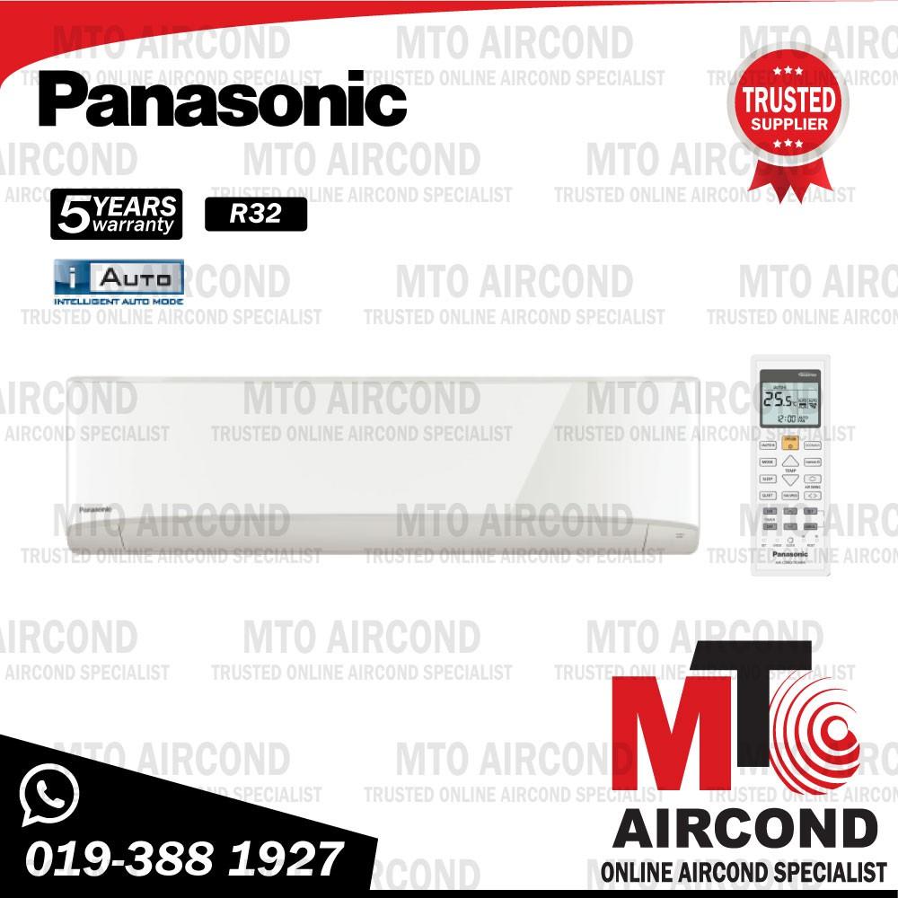 [NEW R32] PANASONIC 2HP STANDARD NON INVERTER R410A / R32 AIR COND AIRCOND