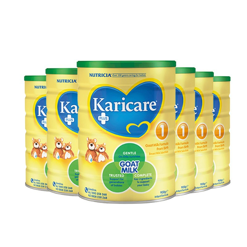 Original Import - KariCare Stage 1 Goats Milk (6 Tins)