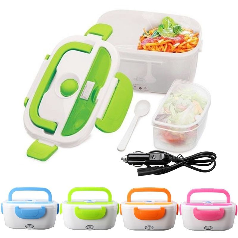 7a053ccf4aec Electric Heating Lunch Box Meal Heater Food Container Travel Lunchbox For  Car