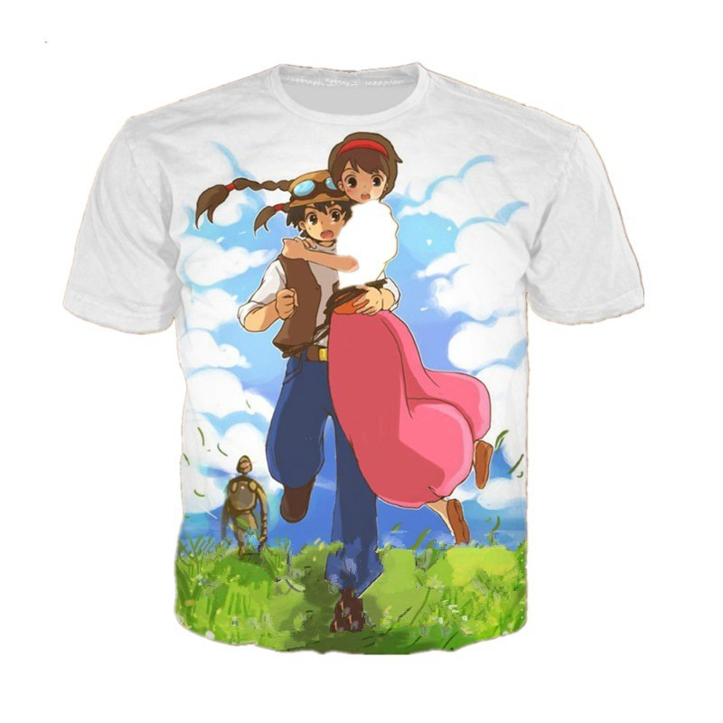GAENM Cartoons AlpacaChildrens Summer Short Sleeve Printing T-Shirts