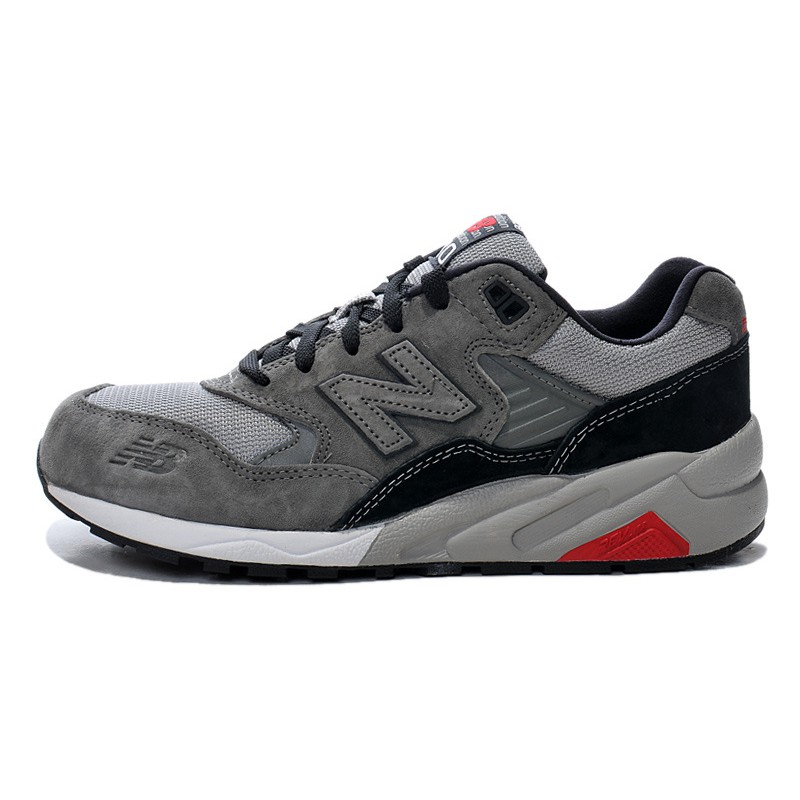 best sneakers f98fa 0923c new balance 580 nb580 dark grey men women sport running breathable shoes