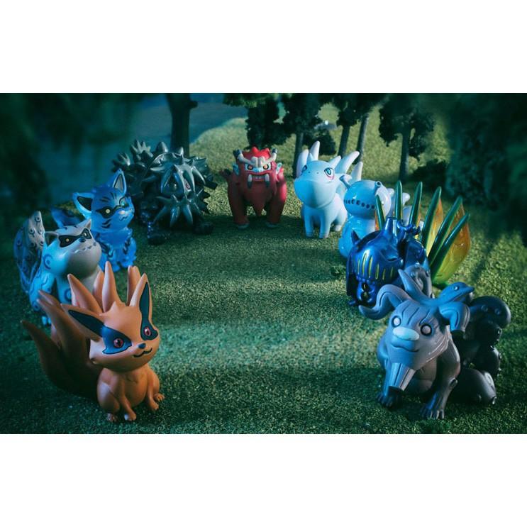 10pcs//Set Anime Naruto Shippuden Uzumaki/&Tailed Beast PVC Figure Toys Collection