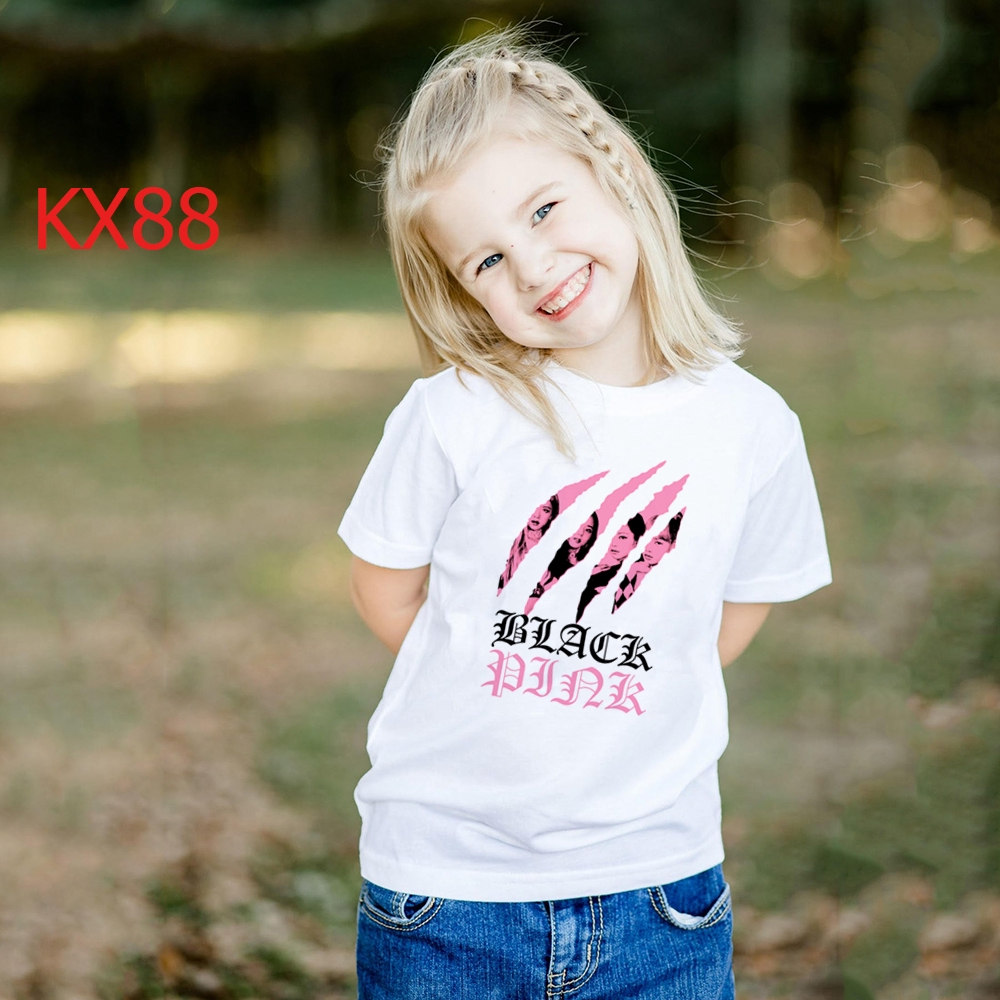 Kids T-Shirt Fashion American Eagle 3D Printed Crew Neck Youth T Shirts Tee for Boys Girls Children