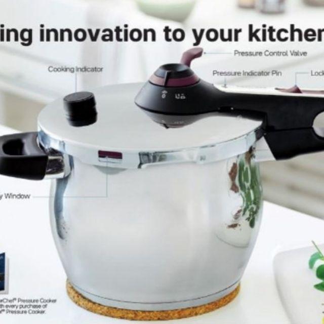 Tupperware Tupper chef Pressure Cooker FREE Gift