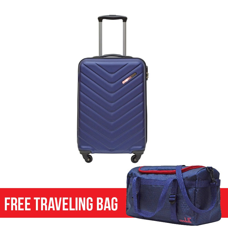 "Condotti Abs Hard Case (20"") [Free Traveling Bag]"