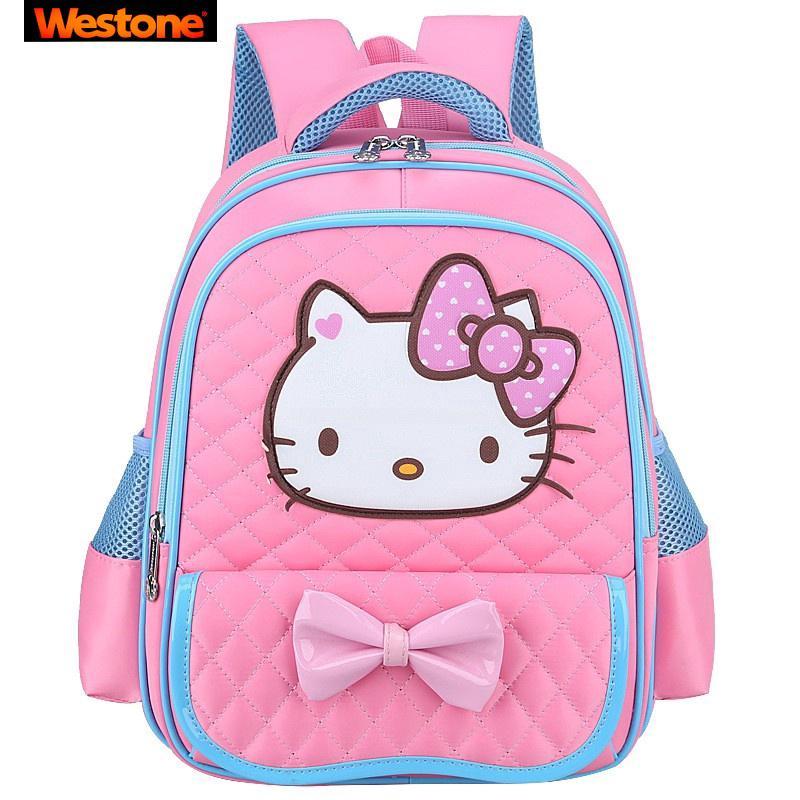 b0c5e222a 3 Colors Korea Hello kitty bag KT school bag hello kitty backpack On