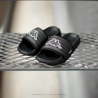 afd04cb02 Kappa Slides Black Original | Shopee Malaysia