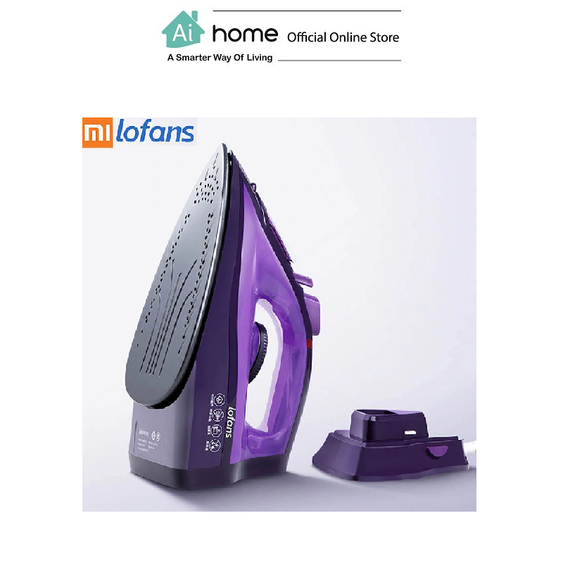 LOFANS Wireless Rechargeable Steam Iron YD-012V (Purple) [ Ai Home ]