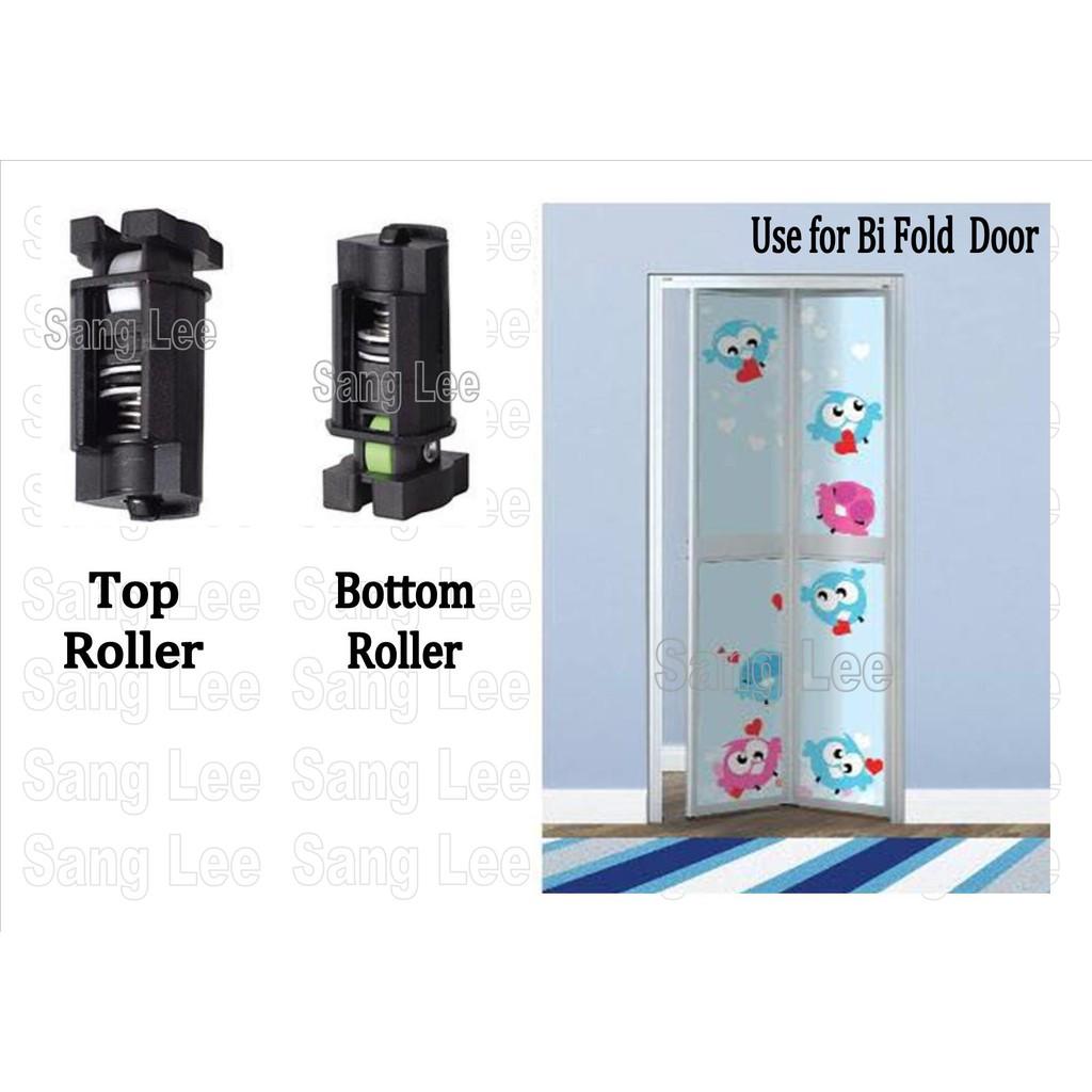 BiFold Door Roller for Washroom Toilet/ Bi fold Pintu Lipat Tandas
