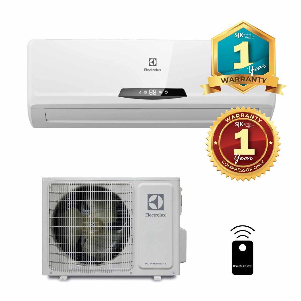 Electrolux Air Conditioner ESM09CRI-B1 (1 0 HP) Non-Inverter Air Cond