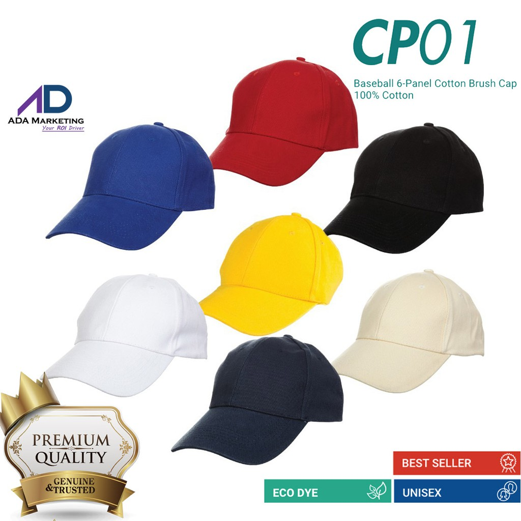 bfab110df2 Baseball Cap - Quality Baseball cotton brush cap (UNISEX) OREN SPORT CP01