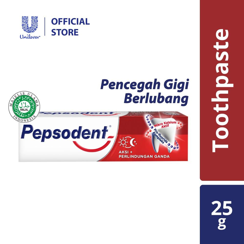 Pepsodent Ubat Gigi Pencegah Gigi Berlubang (Cavity Fighter Toothpaste) 25g