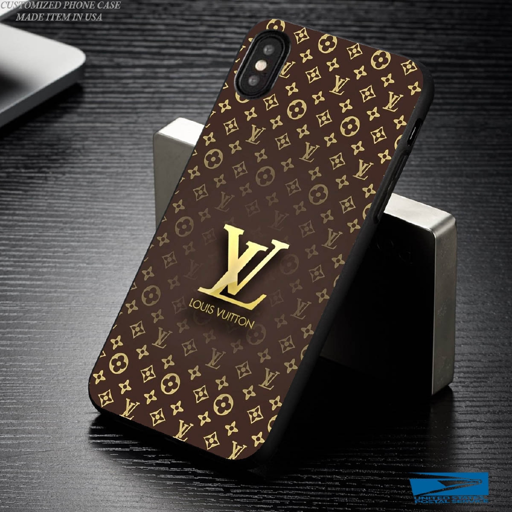 taglia 40 42b65 1d007 Louisvuitton Iphone Xs Max Cover for Iphone 6 7 8 X Se Sumsung S7 S8 Phone  Case