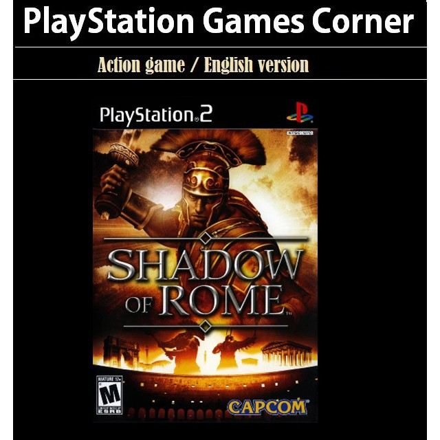 PS2 Game Shadow of Rome, Hack n Slash Game, English version / PlayStation 2