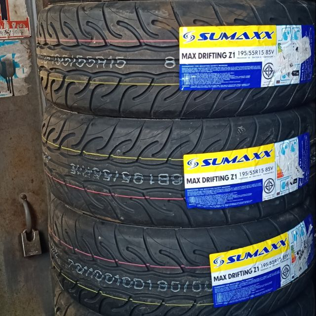 Tayar 195 55 15 195 50 15 Sumaxx Max Drifting Z1 Shopee Malaysia