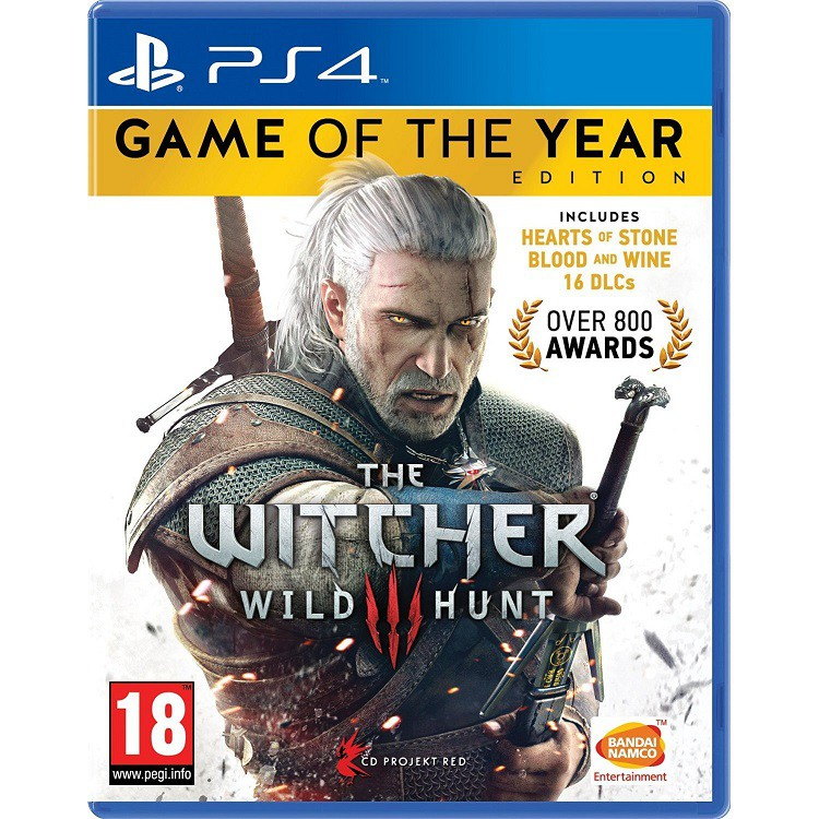 The Witcher 3: Wild Hunt GOTY (PS4/R2/English/Chinese)