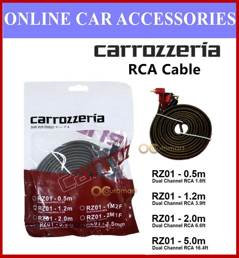 Carrozzeria Audi RCA Cable Dual RCA Stereo 0.5 meter , 1.2 meter , 2 meter , 5 meter