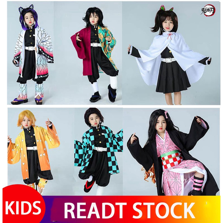 Ready Stock Demon Slayer Kimetsu Yaiba Kamado Tanjirou Nezuko Agatsuma Zenitsu Kanroji Mitsuri Cosplay Costume Kids Costumes Ha Shopee Malaysia See what mitsuri kanroji(iwargaming20) has discovered on pinterest, the world's biggest collection of ideas. shopee