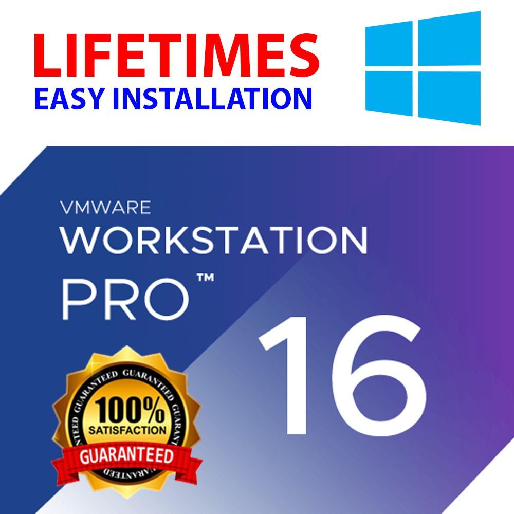 VMware Workstation 16 Pro for Windows (License Key ...