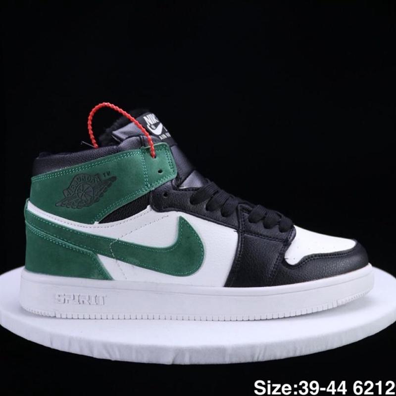 competitive price 0a46d 87b1d AIR JORDAN 1 Generation Jordan 1 AJ1 Winter Plush Basketball Shoes Men and  women's shoes Q AS