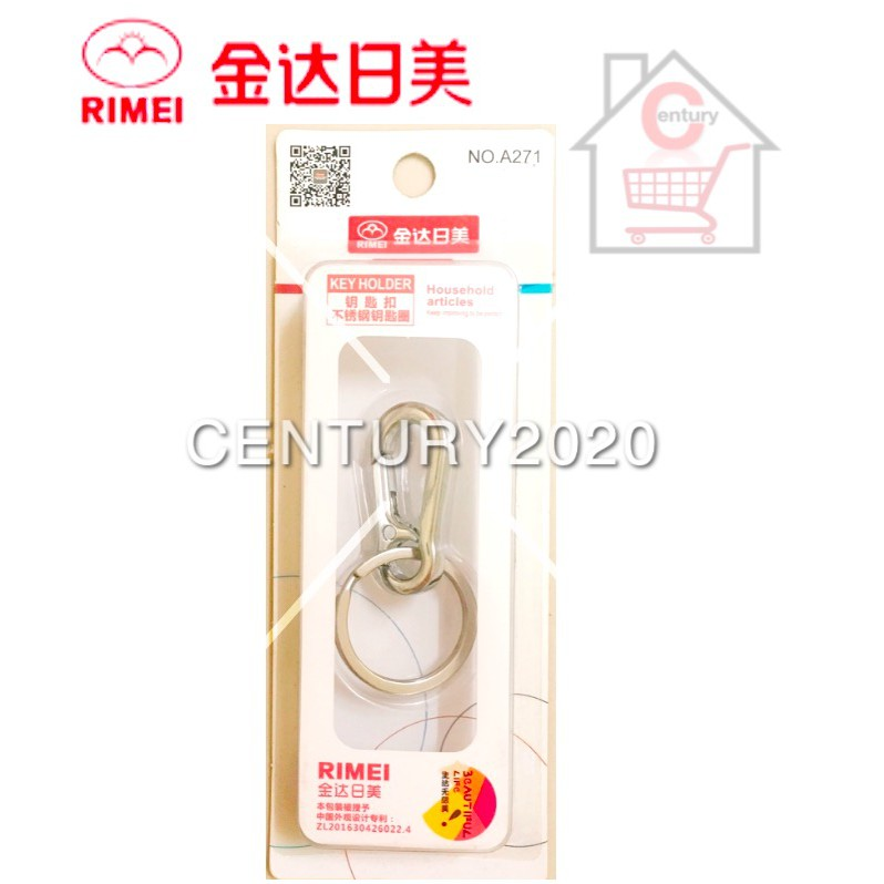 RIMEI Key Chain Key Ring Key Holder Multi-functional Keychain A271