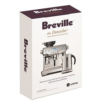 Breville the Descaler Set of 4 Specially Formulated Descaler Pack Lot of 2 New