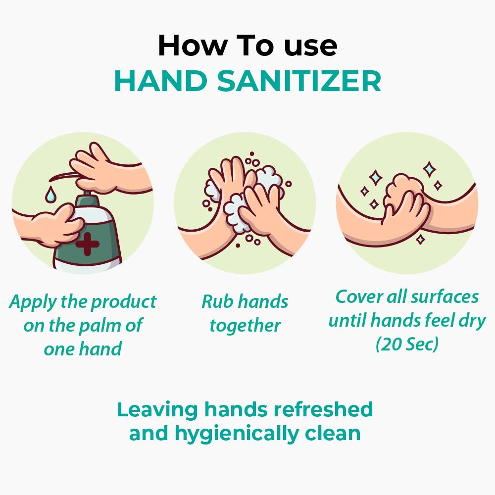 JADI CARE Antibacterial Hand Sanitizer Liquid 60ml - Jadi Life