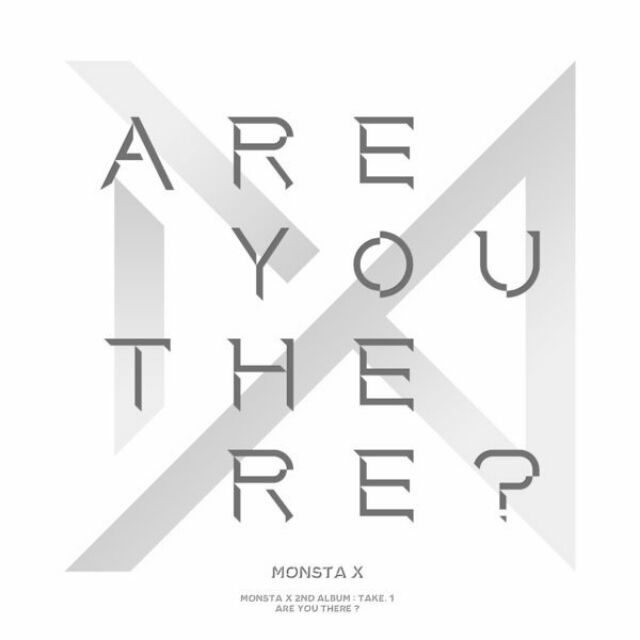 READY STOCK MONSTA X ARE YOU THERE ALBUM