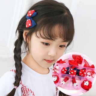 a9ea7c78a Kids girls hair clip barrette rubber band hairgrip tiaras headdress  accessories | Shopee Malaysia