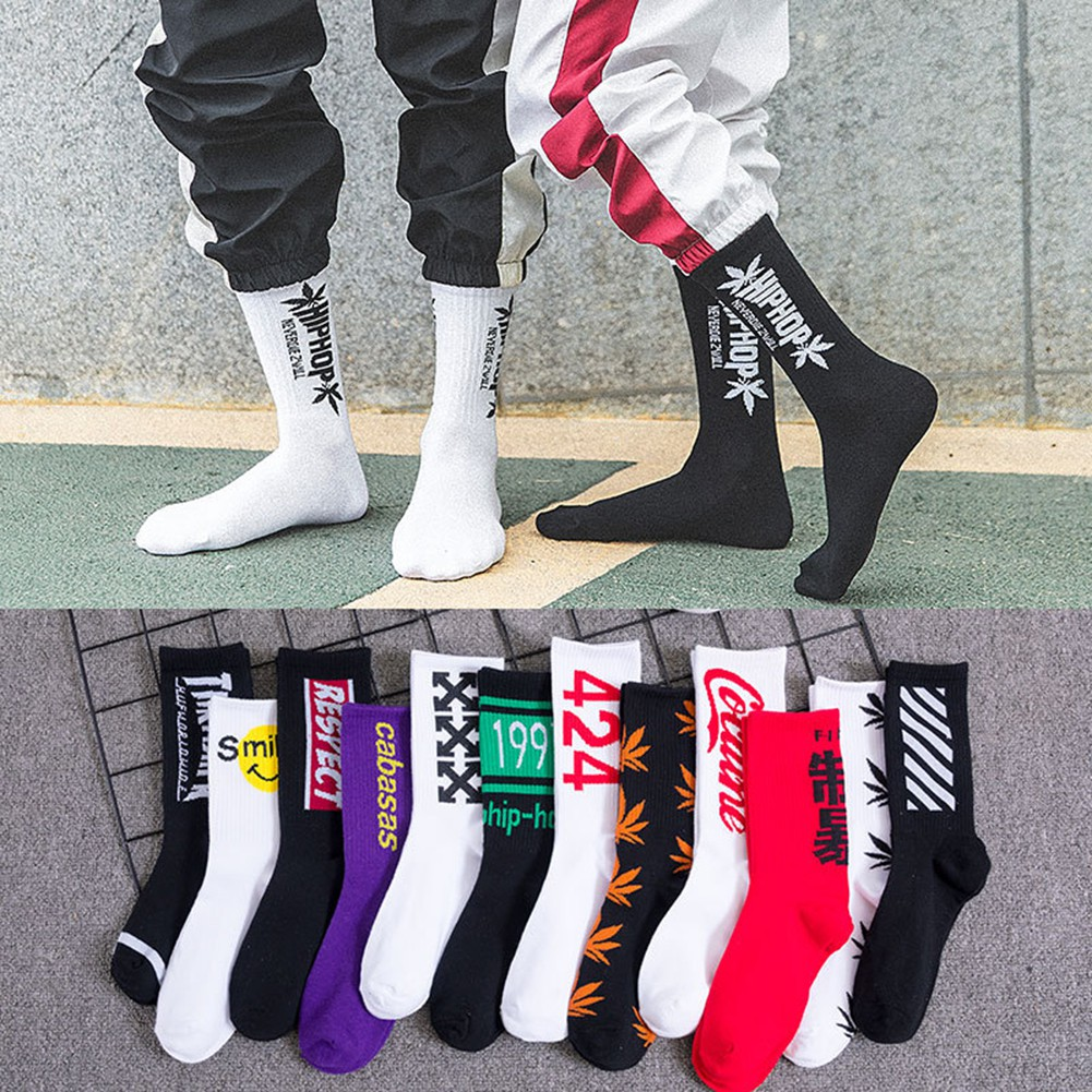 Man popular fashion Basketball trend Sport Socks Crew Socks socks funny socks