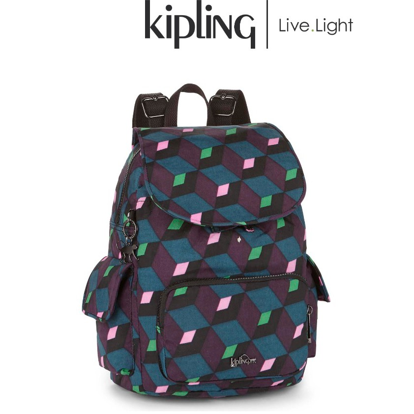 0ccf54c058 Kipling City Pack S Backpack - Bold Mirage (Small) | Shopee Malaysia