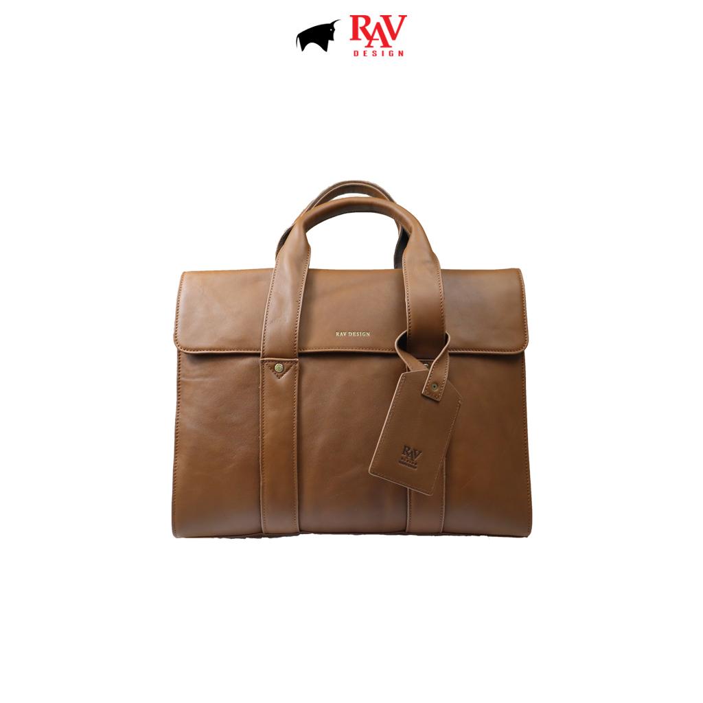 RAV DESIGN 100% Genuine Leather Messenger Document Sling Bag |RVC484G3 series