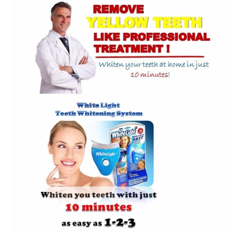 -MALAYSIA READY STOCK- White Light Tooth Teeth Whitening Full Set Gigi Putih Protect Teeth Whitening HM03
