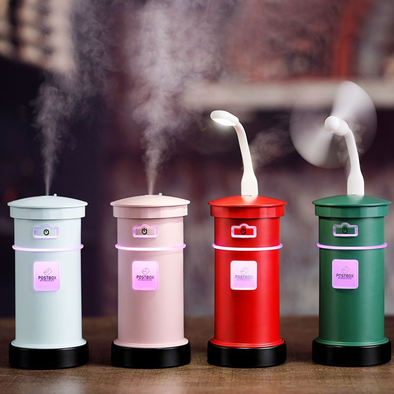Humidifiers & Vapourizers Negative Ion Plantable Ultrasonic Air Humidifier Creative Office Home Bonsai Style Mist Maker Mini Essential Oil Aroma Diffuser,Pink Health & Baby Care