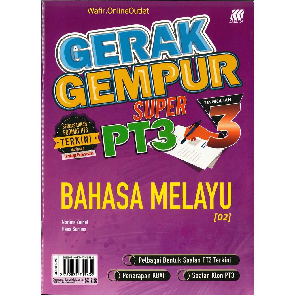 READY STOCK BUKU LATIHAN GERAK GEMPUR SUPER PT3 BAHASA ...