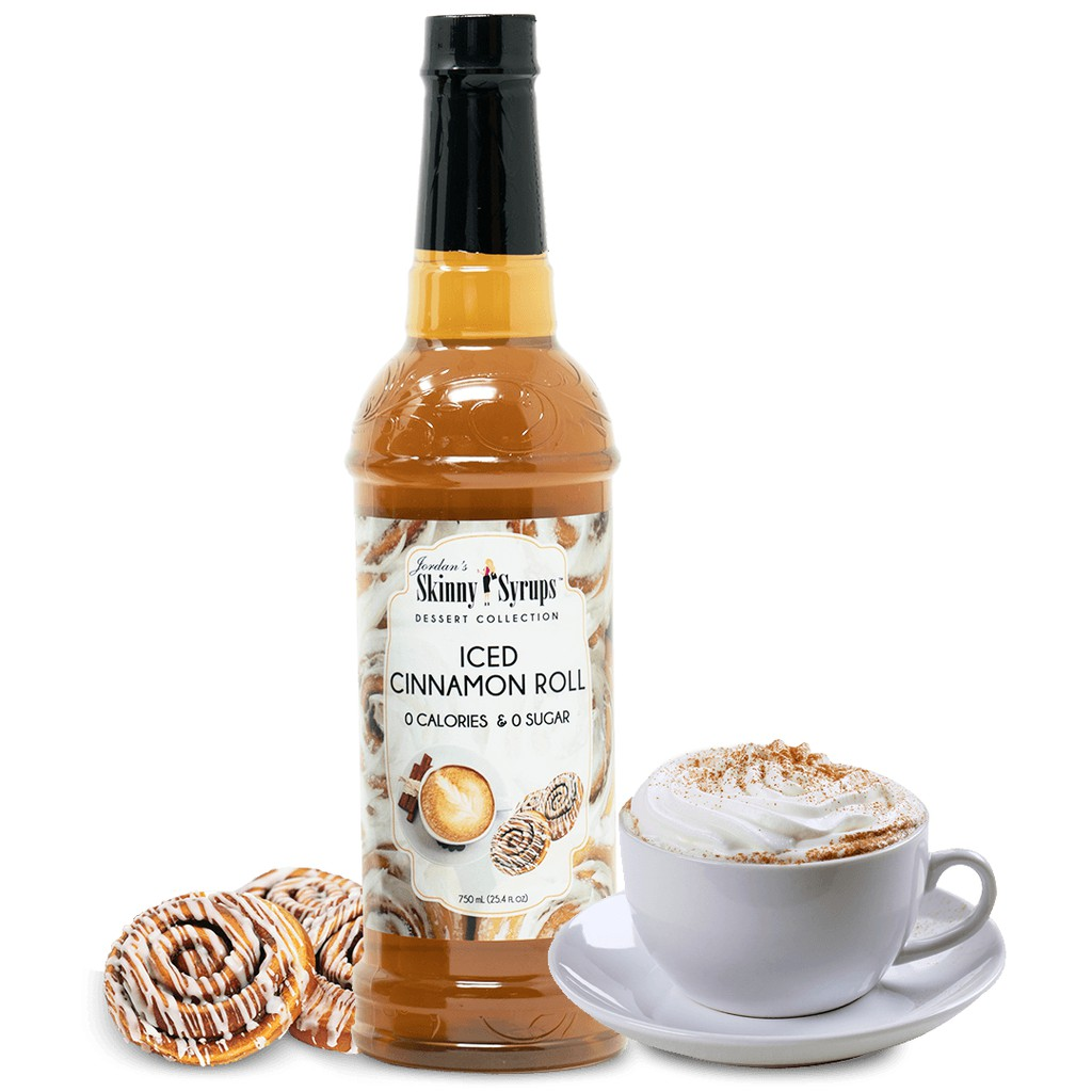 ZERO CALORIES ICED CINNAMON ROLL  SYRUP
