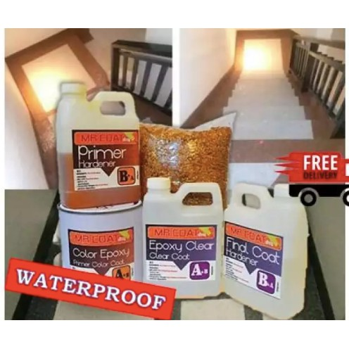 MR COAT DIY SET EASY APPLY FOR BATHROOM FLOOR WATERPROOF FOR TOILET