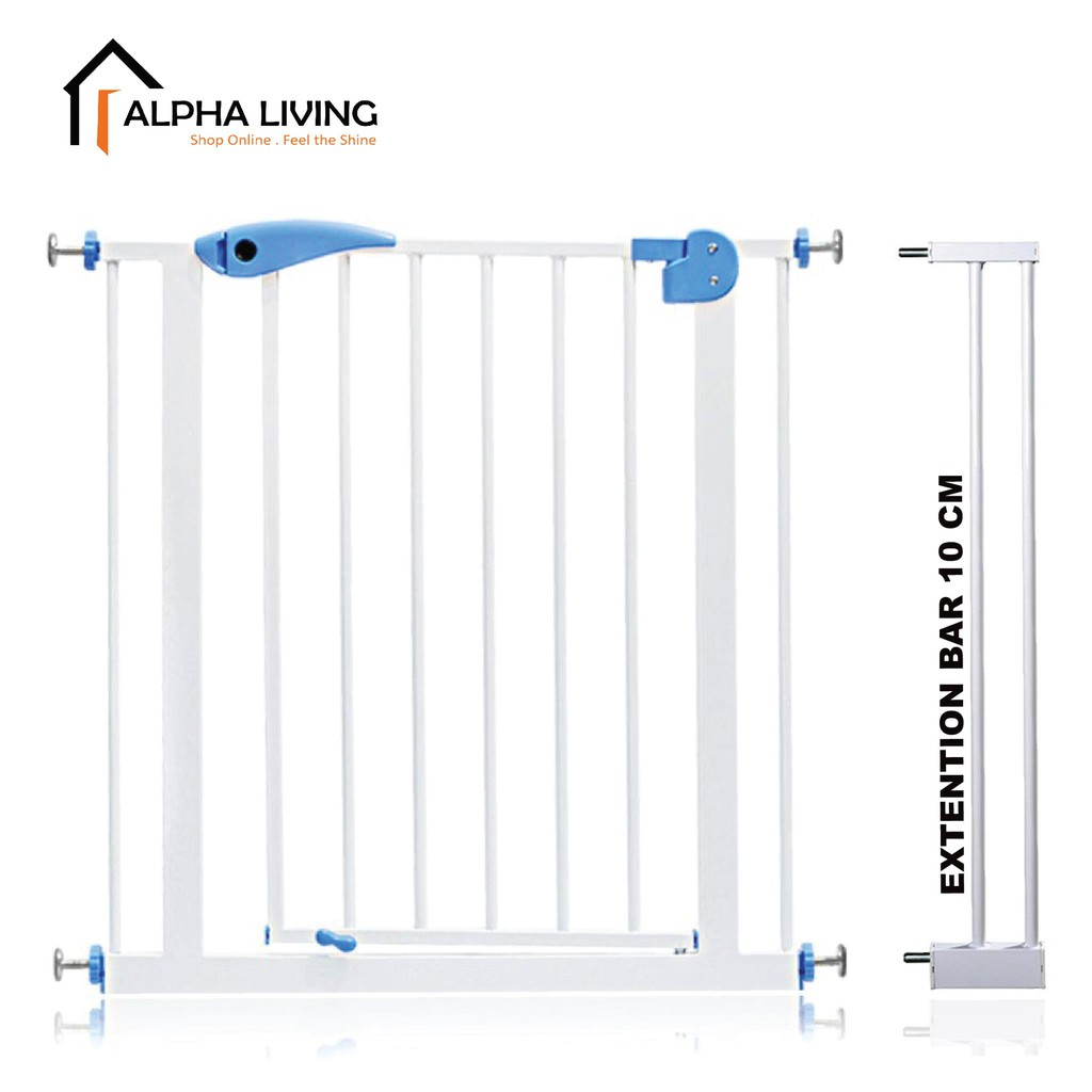Baby Child Safety Gate Fence with Extension Up to 92 CM (GDN0001/GDN0004)